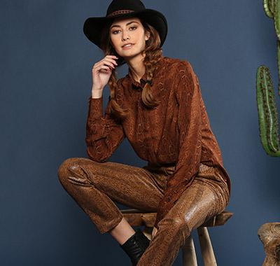 Toutes en cowgirl : le come-back du style western !