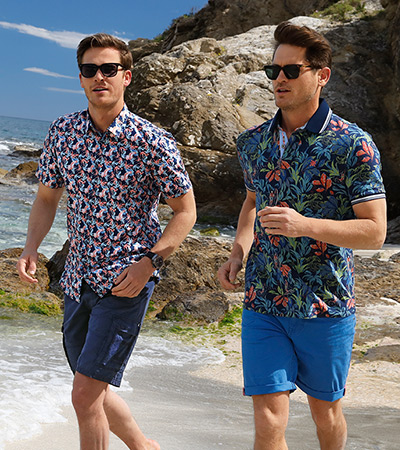 3x beachproof outfits voor hem