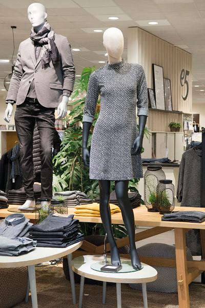 03/2017 | Modeketen e5 lanceert nieuw winkelconcept in Aartselaar & Hasselt