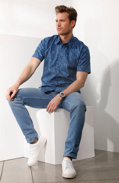Bleu moderne