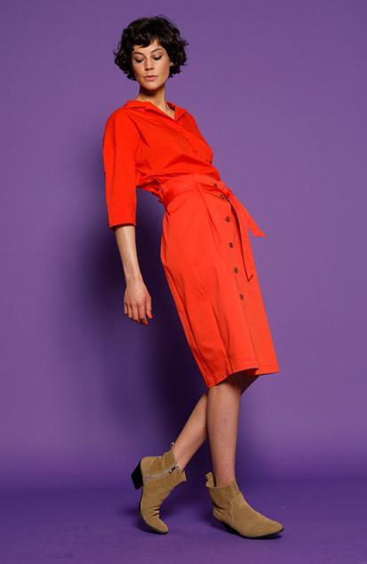 Helemaal oranje