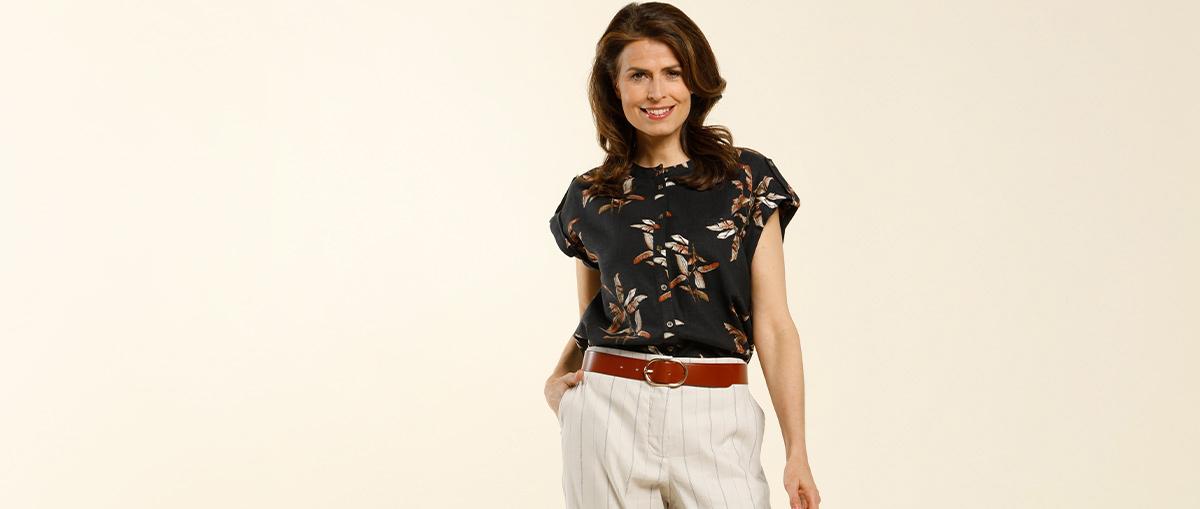 1 blouse, 3 looks: welke kies jij deze zomer? 1