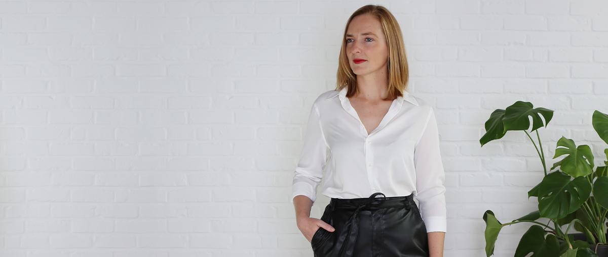 Conseil de mode: comment combiner votre blouse blanche avec style 1