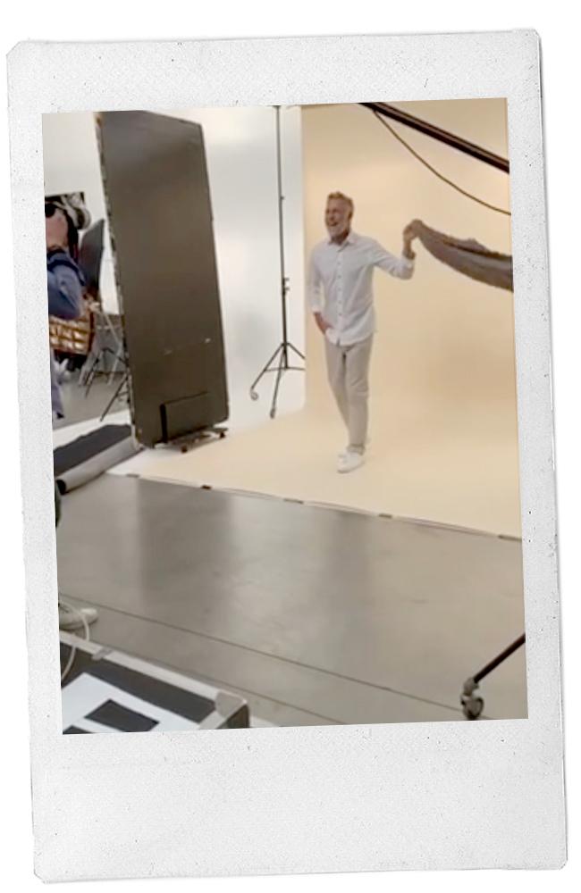 behind the scenes modellen