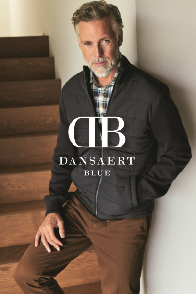 belgische merk dansaert blue herenmode