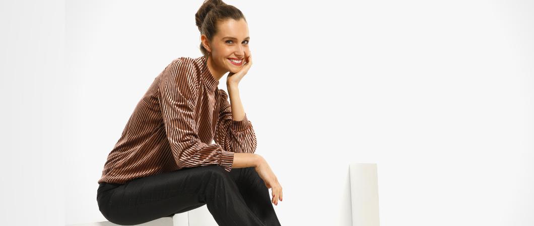 1 blouse, drie feestelijke eindejaarslooks  1
