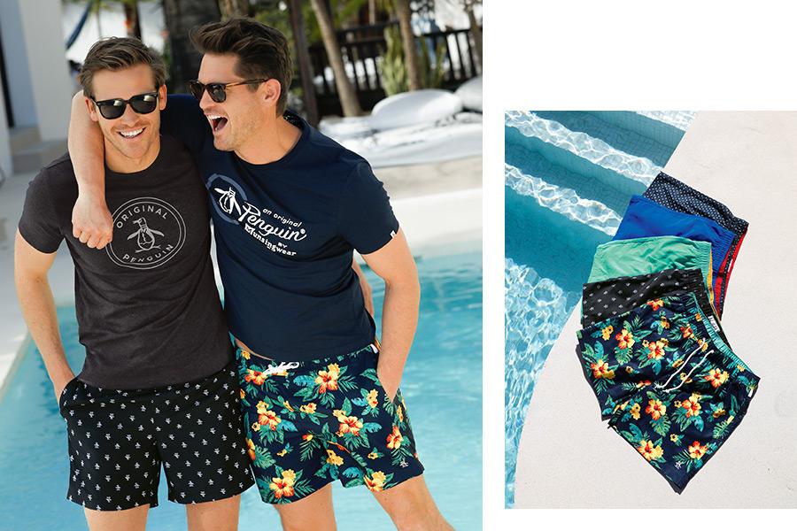 Trend 3: de korte zwembroek voor het zwembad