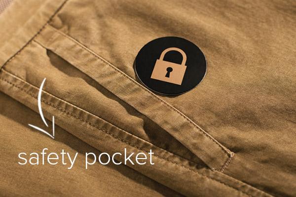 Safety pocket