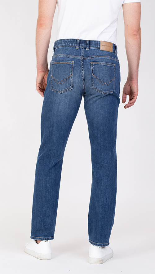 lars slim fit jeans achterkant broek