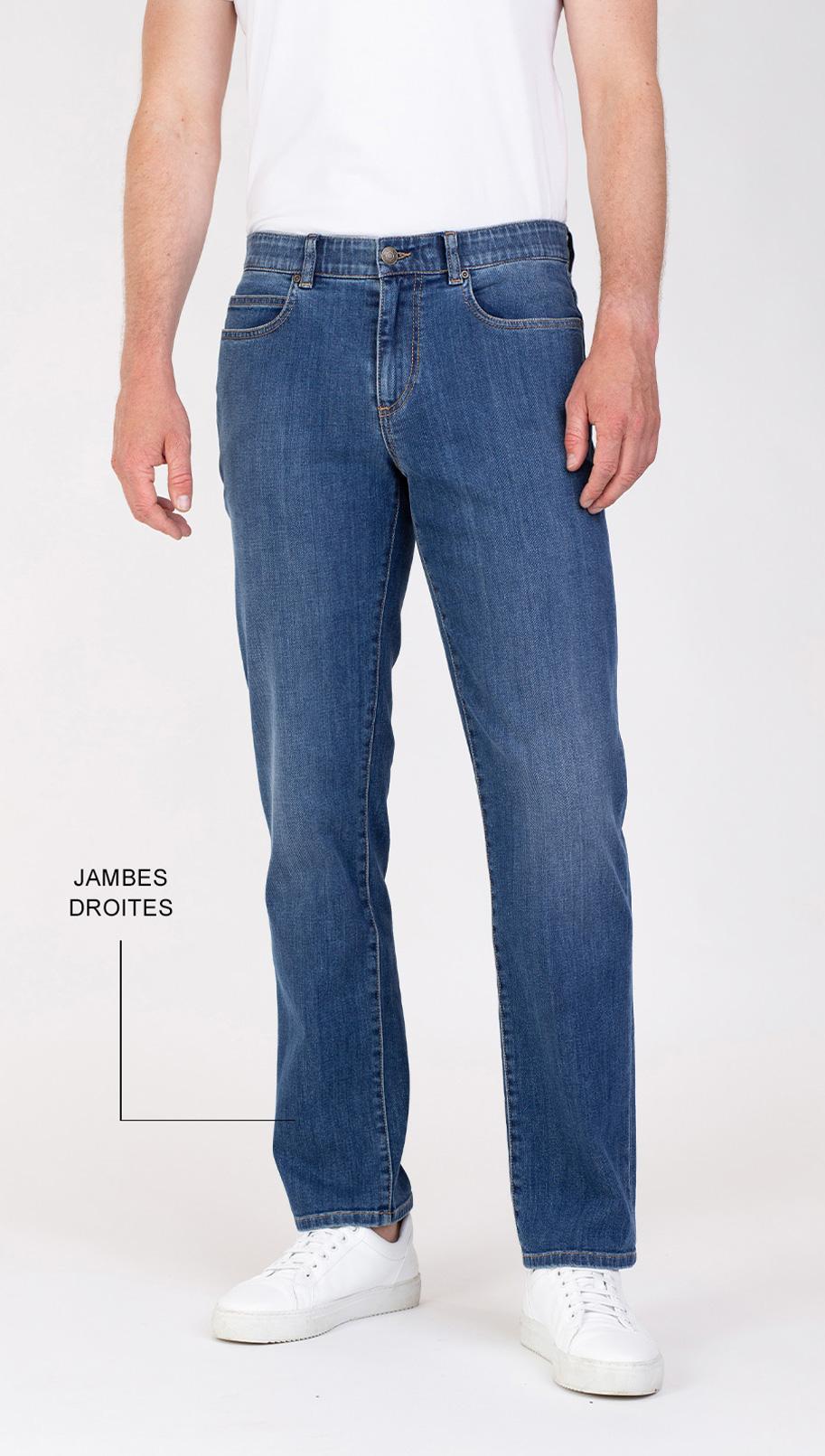 Lars slim fit jeans voorkant van broek