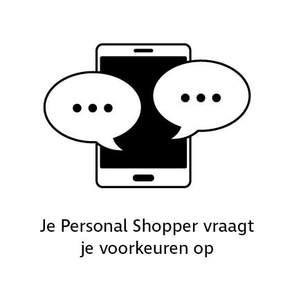 De Personal Shopper vraagt jouw voorkeuren op