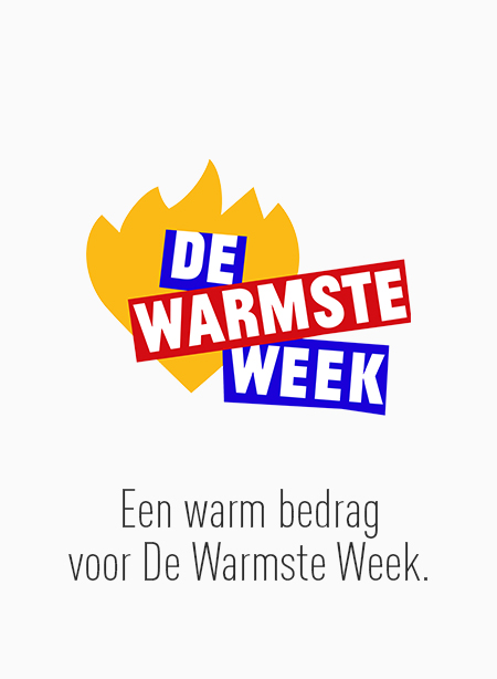 Een warm bedrag voor De Warmste Week