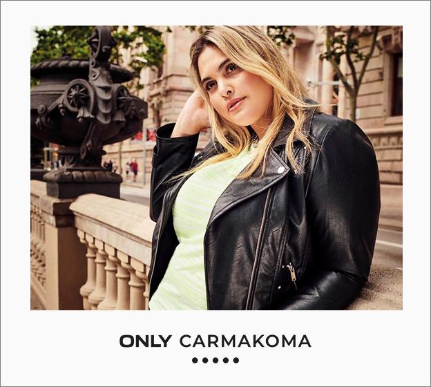 zwarte leren vest only carmakoma met licht groen topje