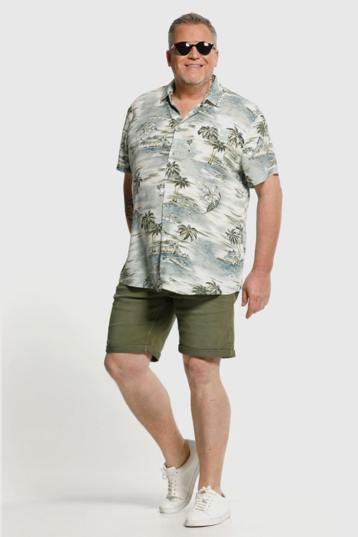 plus size heren hemden